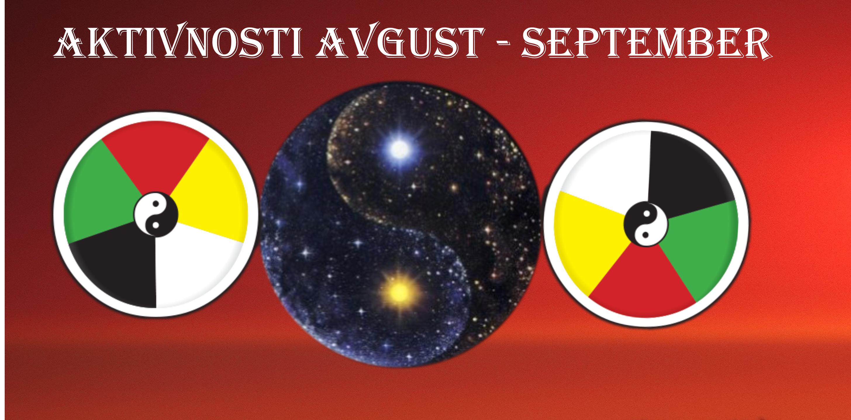 Spiraline aktivnosti v avgustu in septembru